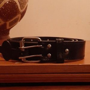 Other - ♠️ Double Prong Genuine Leather Belt Sz 42-44